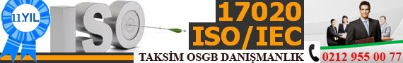 17020 ISO Taksim Danışmanlık
