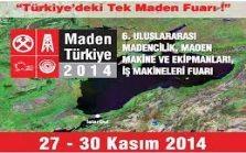 MADEN TÜRKİYE 2014