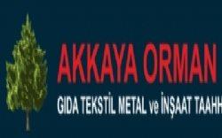 Akkaya Orman Ürünleri Gıda Teks İnş Ltd Şti