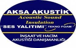 Aksa Akustik Ses Yalıtım Sistemleri İç ve Dış Tic. Ltd. Şti.