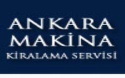 Ankara Makina Kiralama Servisi
