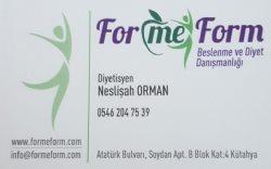 Formeform Beslenme ve Diyet Danışmanlığı Kütahya