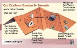 Gaziantep çatı sistemleri