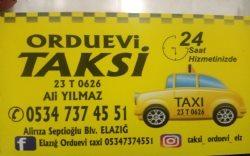 Orduevi Taksi  Elazığ 0534 737 4551