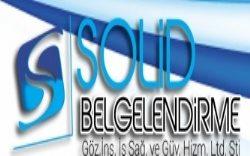 Solid Belgelendirme Göz İnş İş Sağ Güv Hiz Ltd Şti
